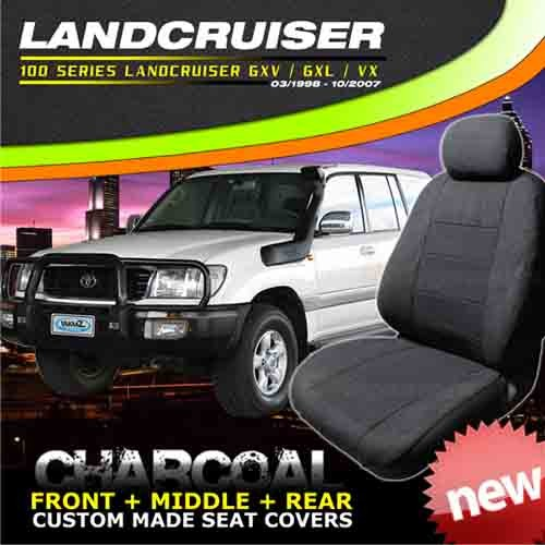 TOYOTA LANDCRUISER 100 SERIES CAR SEAT COVERS F M R
