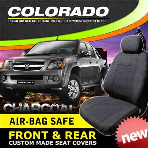 Holden Colorado RC Crew Cab Charcoal Custom Made Seat