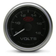 Volt Gauge Black 2 5/8