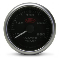 SAAS - Water Temperature Gauge Black 2 5/8
