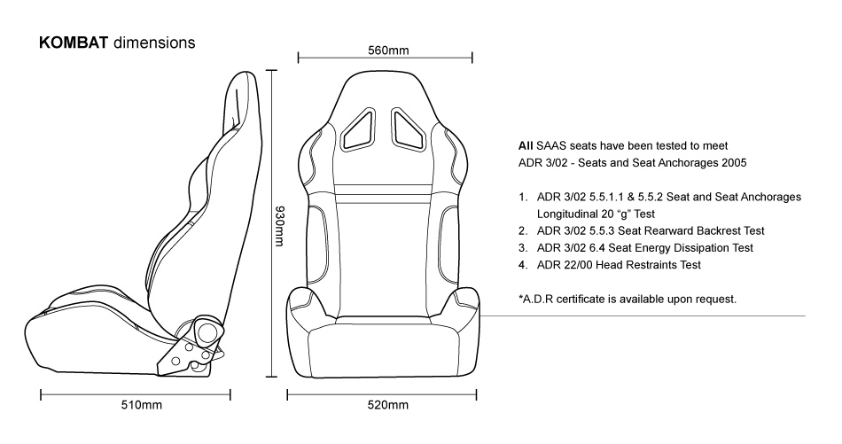 Schematics Of A Car Seat : Car seat diions diagram auto parts catalog and